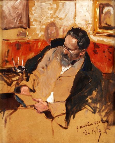 Рубо. Портрет В.А. Беклемишева