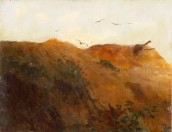Рубо. Павший солдат на склоне холма